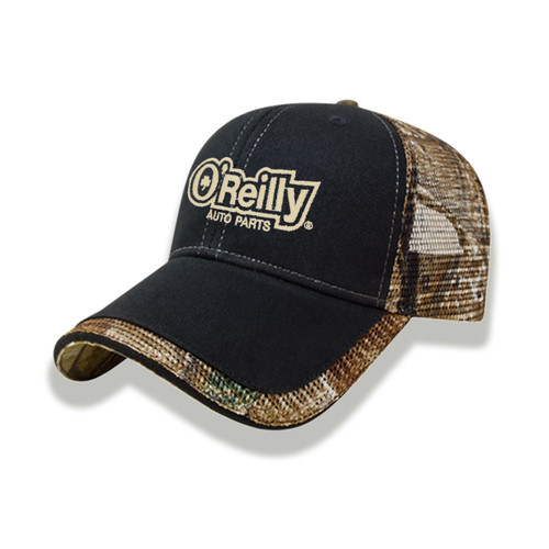 Realtree AP Camo Mesh Back Cap - Black