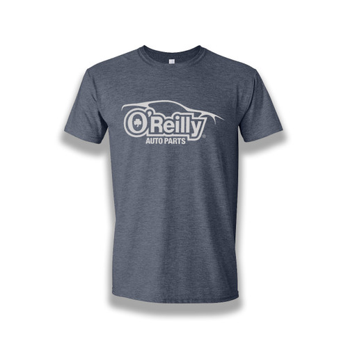 Heathered Navy Softstyle Tee (Car)