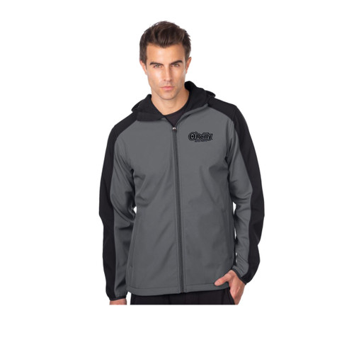 Bonded Soft Shell Jacket - Charcoal