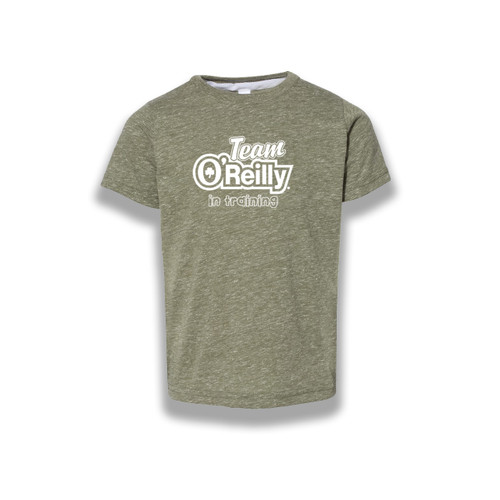 Toddler Heathered Tee - Team O'Reilly