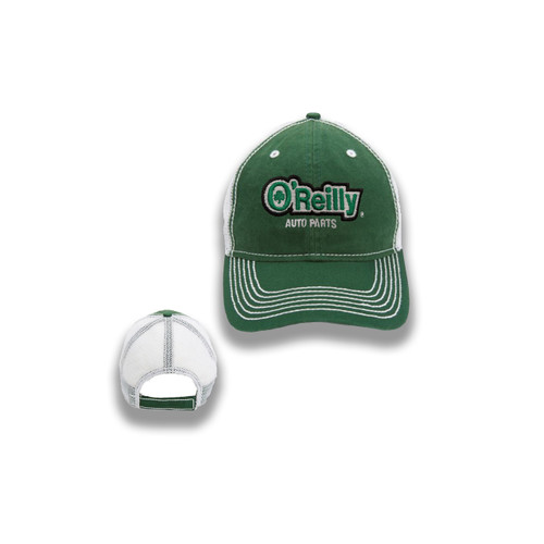 Green Washed Ball Cap