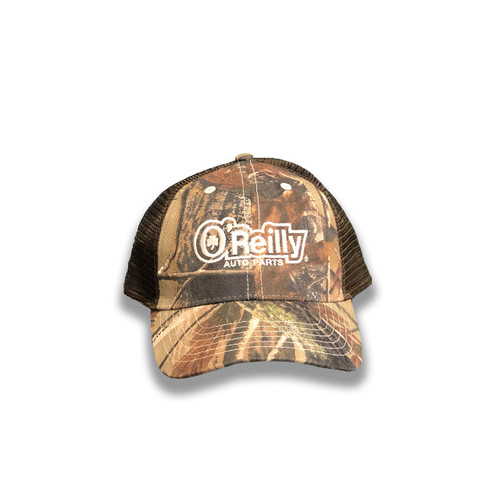Camo/Brown Mesh Cap
