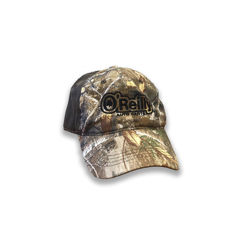 Brown Suede Camo Cap