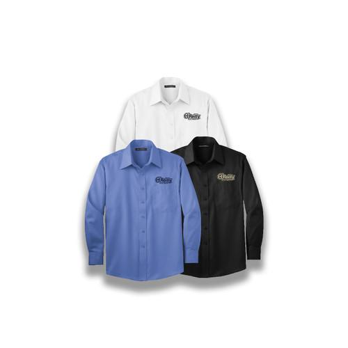 Long Sleeve Non-Iron Twill Shirt