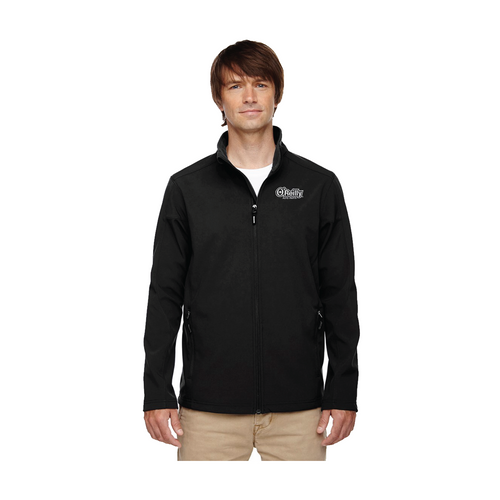 Men's Tall Two-Layer Fleece Bonded Soft Shell Jacket
