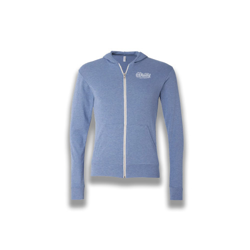 Triblend Lightweight Hooded Full-Zip