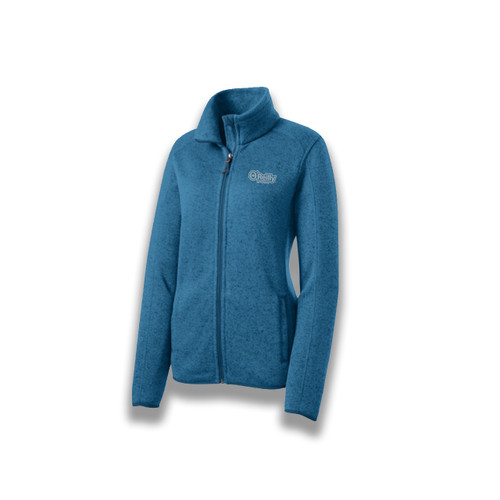 Ladies Ultra Soft Heathered Jacket
