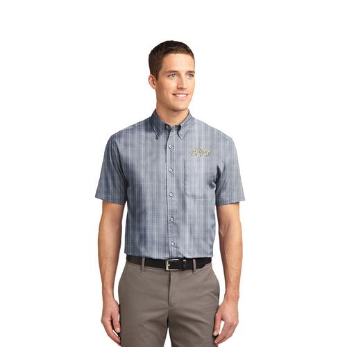 2021 Men's O'Reilly Short Sleeve - Grey Tattersall