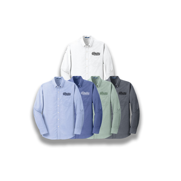 Port Authority Long Sleeve Super Pro Oxford