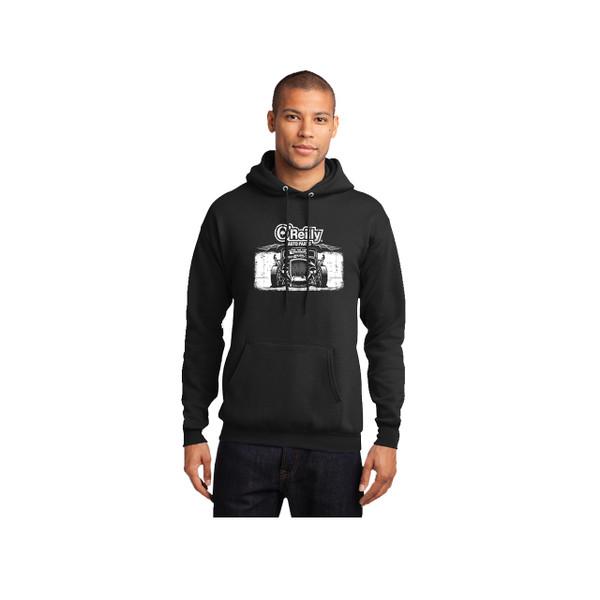 Core Fleece Hot Rod Pullover Hooded Sweatshirt