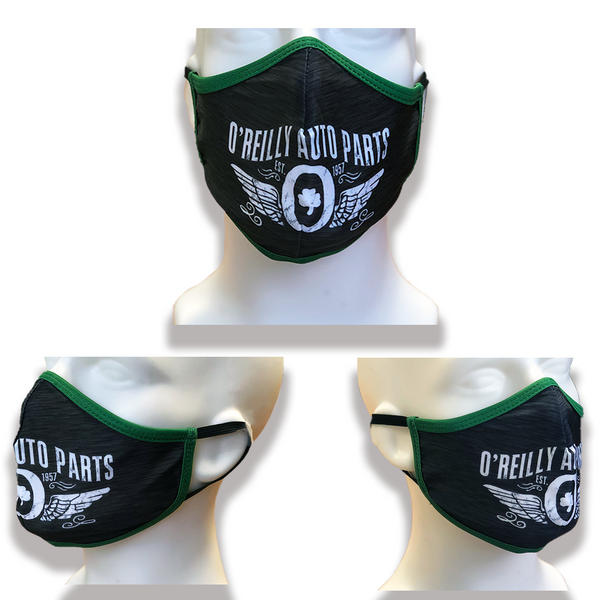 O'Reilly Winged O Face Mask