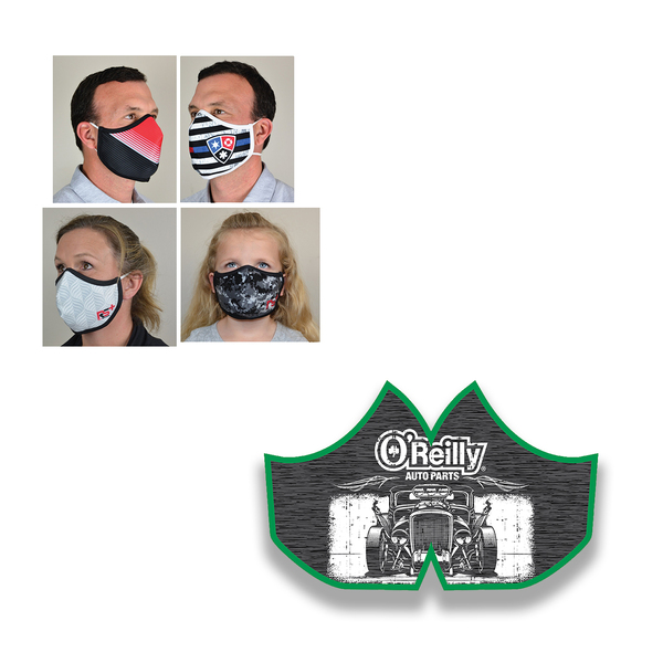 O'Reilly Hot Rod Face Mask