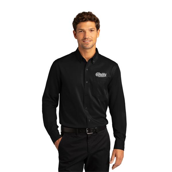 Men's Long Sleeve SuperPro React Twill Shirt