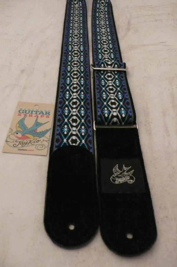 Triple Blue Woven
