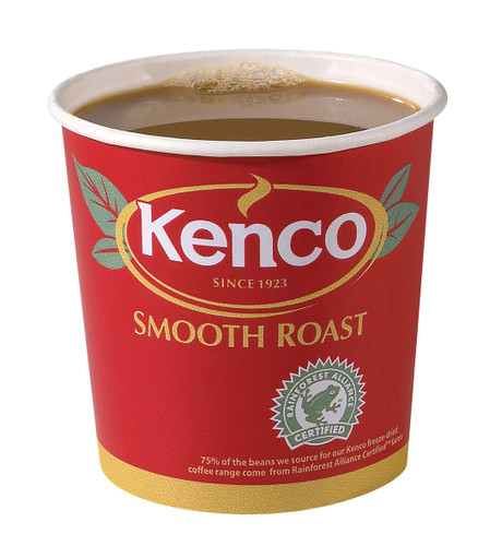 Kenco Incup Smooth Roast White Coffee 15x25