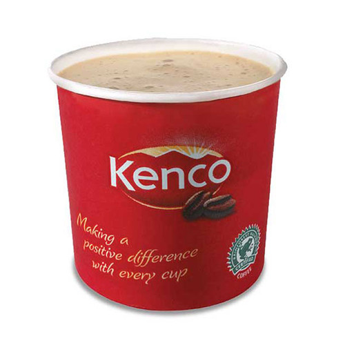 Kenco Incup Decaf White Coffee 15x25