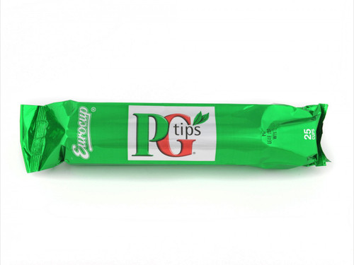 Incup PG Tips White Tea 12x25