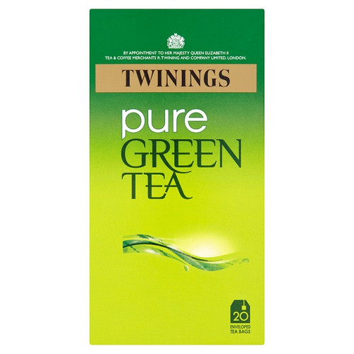 Twinings Pure Green Tea Bags 1x20
