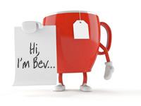 Hi I'm Bev teacup
