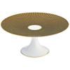 Brown Small Petit Four Stand, 6 2/5 inch | Raynaud Uni Tresor