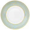 Turquoise Soup Bowl, 8 2/3 inch, 20 1/3 ounce | Raynaud Uni Tresor