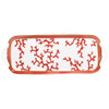 Long Cake Plate | Raynaud Menton Cristobal - Coral