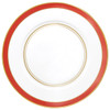 Small Band Dinner Plate, 10 3/5 inch | Raynaud Menton Cristobal - Coral