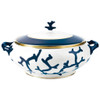Soup Tureen, 59 1/9 ounce | Raynaud Menton Cristobal - Marine