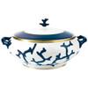 Soup Tureen, 59 1/9 ounce | Raynaud Menton Cristobal - Marine