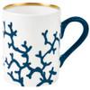 Mug, 3 1/9 inch, 9 1/3 ounce | Raynaud Menton Cristobal - Marine