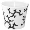 Candle Pot, 3 2/7 inch | Raynaud Menton Cristobal - Marine