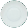 Rim Soup Plate, 10 3/5 inch, 47 2/7 ounce | Raynaud Uni Monceau - Peacock Blue