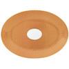 Orange Medium Oval Dish | Raynaud Uni Tresor