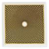 Brown Small Tray, 4 2/7 inch | Raynaud Uni Tresor