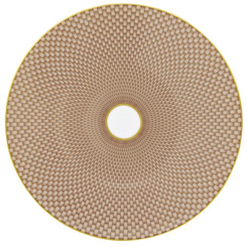 Beige Dessert Plate, 8 2/3 inch | Raynaud Uni Tresor