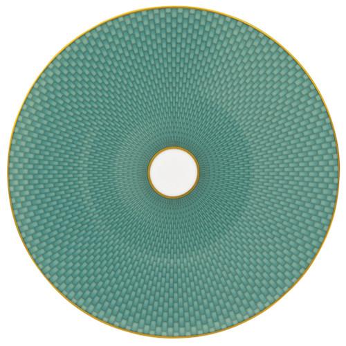 Turquoise Dessert Plate, 8 2/3 inch | Raynaud Uni Tresor