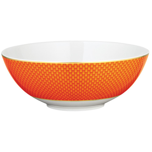 Orange Salad Bowl Small, 6 5/7 inch, 26 2/3 ounce | Raynaud Uni Tresor