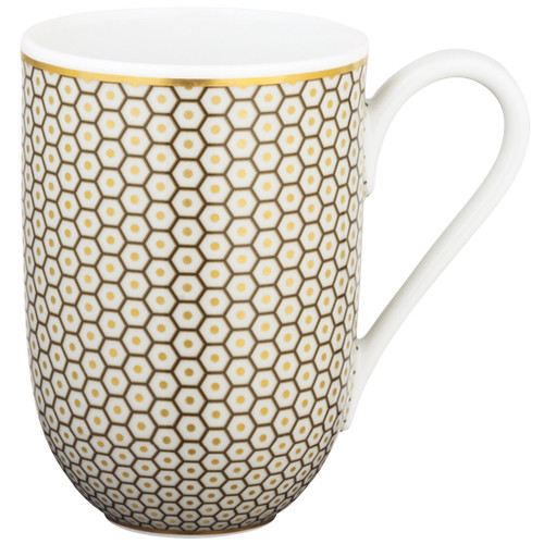 Brown Mug, 3 1/9 inch, 10 ounce | Raynaud Uni Tresor