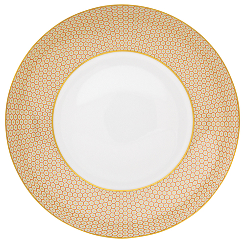 Orange Soup Bowl, 10 3/5 inch, 47 2/7 ounce | Raynaud Uni Tresor