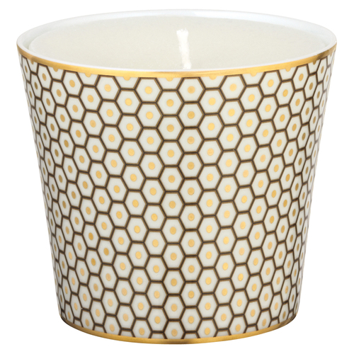 Brown Candle Pot, 3 2/7 inch | Raynaud Uni Tresor