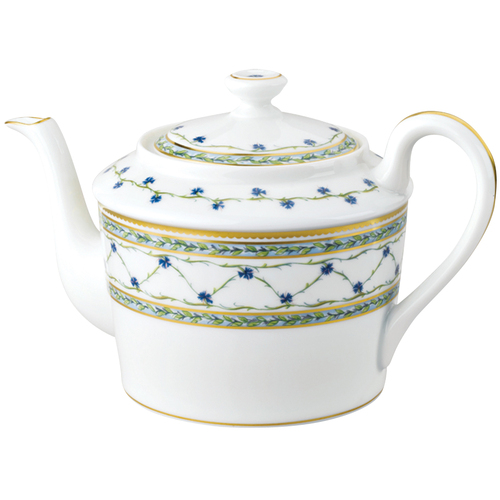 Tea Pot, 3 5/7 inch, 31 1/9 ounce | Raynaud Menton Alle Royale