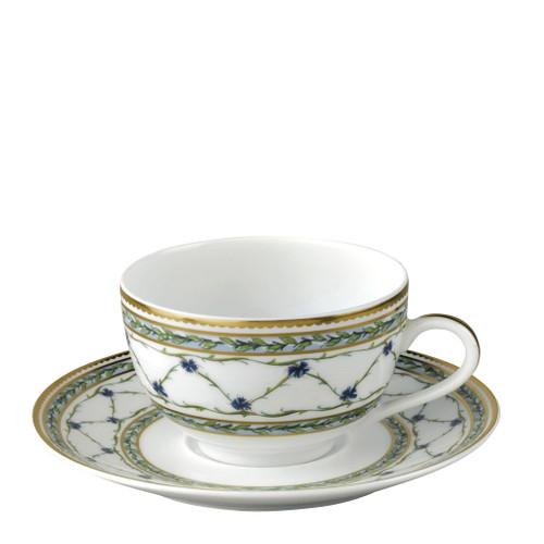 Tea Saucer, 5 5/7 inch | Raynaud Menton Alle Royale
