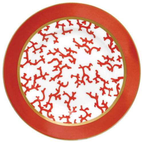 Bread & Butter Plate, 6 2/7 inch | Raynaud Menton Cristobal - Coral