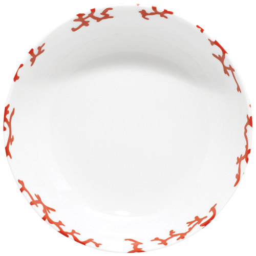 Breakfast Coupe, 6 5/7 inch, 11 4/5 ounce | Raynaud Menton Cristobal - Coral