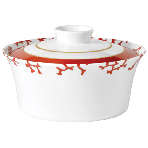 Covered Vegetable Dish, 7 inch, 57 2/5 ounce | Raynaud Menton Cristobal - Coral