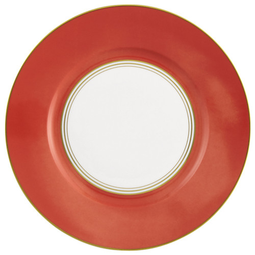 Dinner Plate #3, 10 3/5 inch | Raynaud Menton Cristobal - Coral