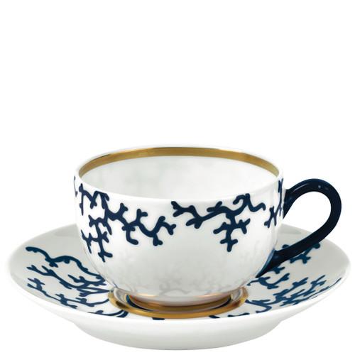 Tea Saucer, 6 inch | Raynaud Menton Cristobal - Marine