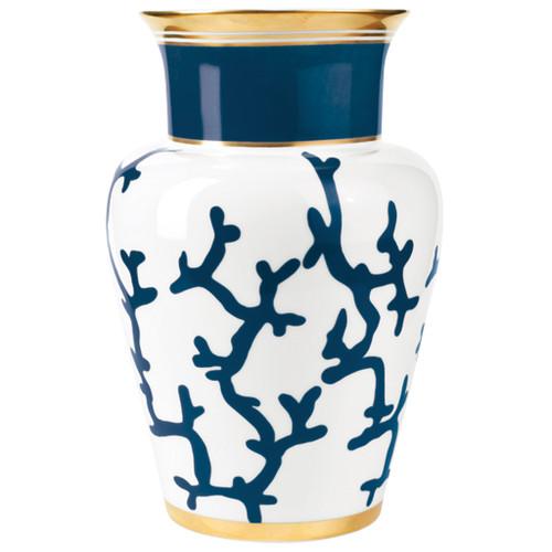 Shanghai Vase, 111 4/5 ounce | Raynaud Menton Cristobal - Marine