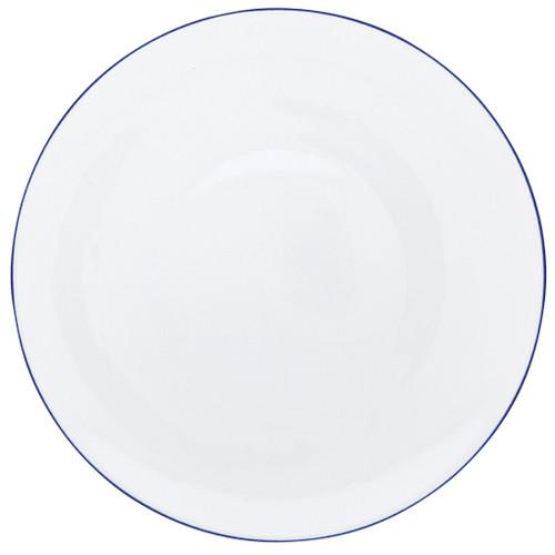 Dinner Plate, 10 3/5 inch | Raynaud Uni Monceau - Ultramarine Blue