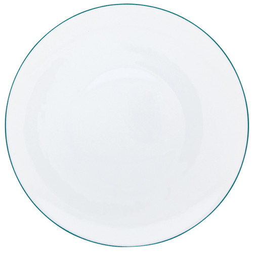Dinner Plate, 10 3/5 inch | Raynaud Uni Monceau - Peacock Blue